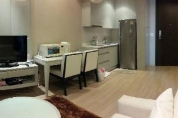 ++เช่าห้องแต่งสวย++ The Address Phayathai ชั้นสูง วิวโล่ง 1 ห้องนอน 39 ตร.ม. ใกล้ BTS พญาไท